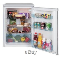 150 Litre White Freestanding Under Counter Large Refrigerator Fridge A+ Energy