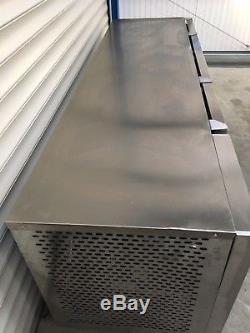 2.3 Foster 4 Door Under Counter Display Fridge Meat Kitchen Catering Commercial