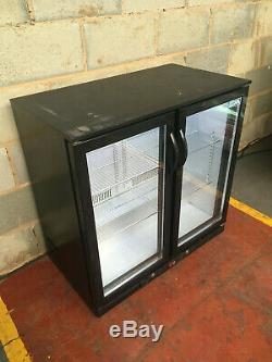 2 Door Under Counter Drinks Display / Bar Chiller/ Cooler/ Fridge LED