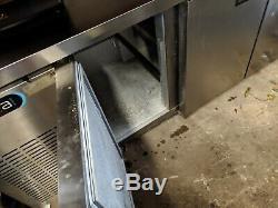 3 Door Stainless Steel Fridge, Under Counter Commercial Fridge