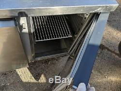 3 Door Zanussi Prep Fridge Under-counter Catering Commercial Refrigerator