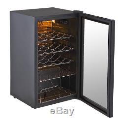 93 Litre Glass Door Under Counter Beer Drinks Fridge Display Chiller Cooler New
