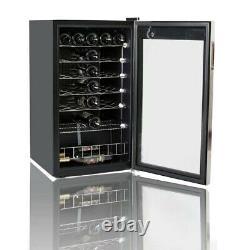 95L Glass Door Bar Wine Beer Drinks Fridge Undercounter Beverage Drinks Cooler