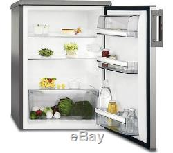 AEG RTB81521AX Undercounter Fridge Silver & Stainless Steel