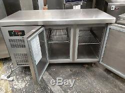 Angelo pro under counter double door fridge worktop fridge prep fridge catering