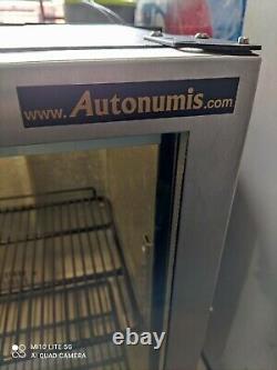 Autonomis under counter commercial double door glass fridge bottle cooler