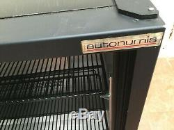 Autonumis Sliding Doors Under Counter Display Bottle Drinks Fridge