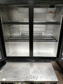 Autonumis Under counter commercial double door glass fridge bottle cooler