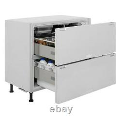 BRAND NEW Hotpoint NCD 191 I Built-in/Integrated Under Counter Fridge Drawers