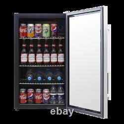 Baridi 80L Wine, Beer & Drinks Fridge Cooler, Thermostat, LED, Low Energy A+