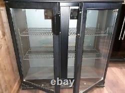 Beer bottle cooler fridge Double door Back bar Under counter