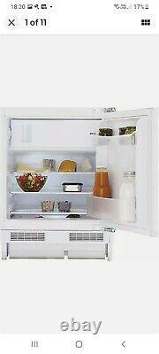 Beko BRS3682 White Integrated Under Counter Fridge freezer new