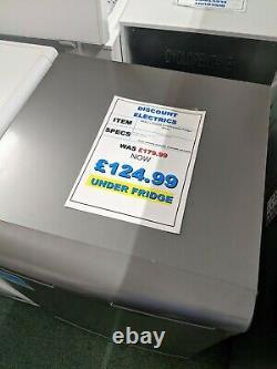 Beko Freestanding Under Counter Fridge 55cm 128 Litres- Silver LXS553S