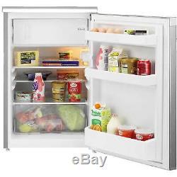 Beko UR584APS Silver A+ 101 Litres 2 Shelves Under Counter Auto Defrost Fridge