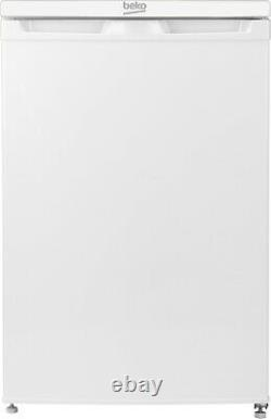 Beko UR584APW 114L Freestanding Under Counter White Fridge Freezer, Energy A+