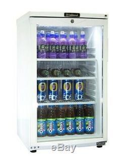 Blizzard BC105 105 Ltr Undercounter Glass Door Display Cooler-GRADED