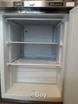 Blizzard BZ-UCR 140 Industrial Under Counter Stainless Steel Freezer