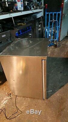 Blizzard Stainless Steel Single Door Undercounter Fridge