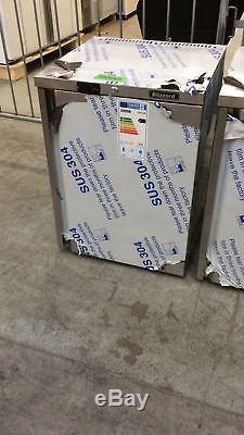 Blizzard UCR140 145 Litre Undercounter Fridge STAINLESS STEEL