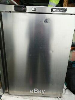 Blizzard UCR140 industrial under counter stainless steel refrigerator