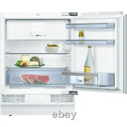 Bosch KUL15A60GB Integrated Under Counter Fridge + Ice Box White