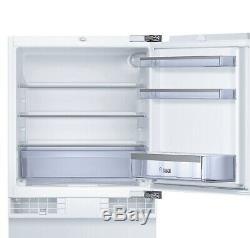 Bosch KUR15A50GB White Integrated UNDER COUNTER BUILT IN Fridge BILLY KUR