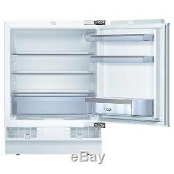 Bosch Serie 6 KUR15A50GB 141L Built-In Undercounter Fridge
