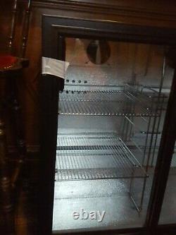Brand New Under Counter Low Fridge Back Bar Bottle Cooler double Sliding Doors