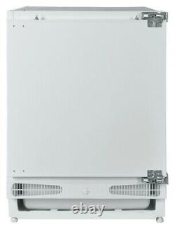 Bush BUCFR6082 Integrated 115L A+ Under Counter Fridge White
