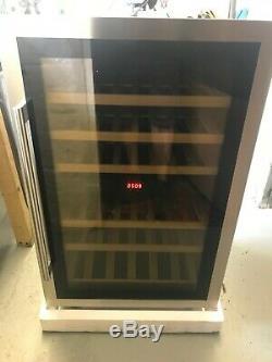 CDA FWV902SS 55 Bottles! Integrated Under Counter Dual Zone Wine Fridge