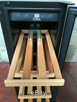 CDA Single Door Undercounter Wine Display Chiller/ Cooler/ Fridge LED