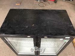 Capital Under Counter 2 Door Bar Fridge 90x50xh90cm