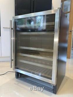 Caple Wi6120 46 Bottle 600mm/60cm S/S Under Counter Wine Cabinet/Cooler/Fridge