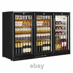 Commercial Bottle Fridge Bar Beer Back Undercounter Interlevin EC30H