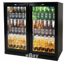 Commercial Bottle Fridge Under Counter Back Bar Cooler Chiller Unifrost BC20