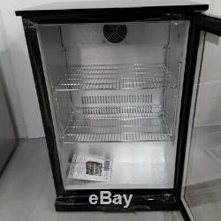 Commercial Bottle fridge Single Glass Chill Bar Under Counter Polar GL001