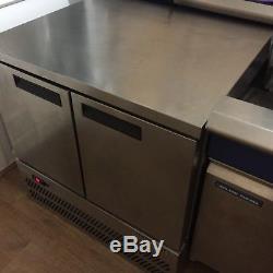 Commercial Double Door Under Counter Freezer
