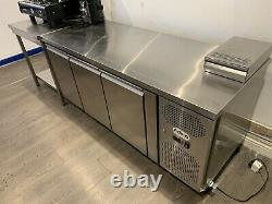 Commercial Undercounter Stainless Steel Fridge Hardly Used Real Bargain