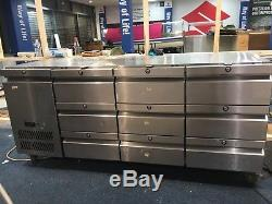 Commercial Williams 9 Drawer Under Counter Fridge