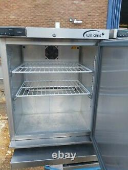 Commercial Williams under-counter single door fridge stainless steal heavy duty