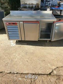 Commercial undercounter fridge