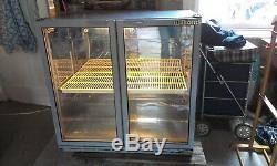 Commercial wine beer cooler fridge