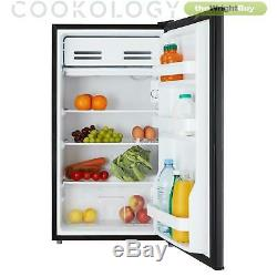 Cookology UCIF93BK Under Counter Freestanding Fridge 47cm wide with chiller box