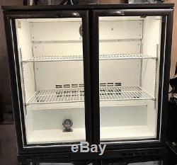 Cornelius Zenith900 Double Glass door, Drinks, undercounter display fridge