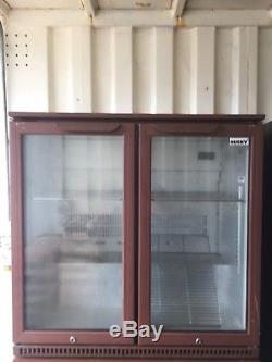 Double under counter Bottle fridge