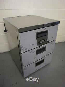 Foster 3 drawer undercounter fridge, HR 150 D