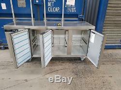 Foster EXTRA under counter three 3 door fridge work top fridge prep fridge 178cm