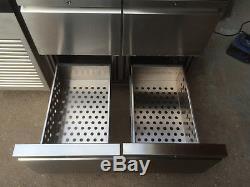 Foster EcoPro G2 under counter fridge 4 drawer unit