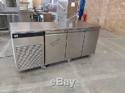 Foster G2 freezer undercounter 3 door freezer stainless steal -18/-21 work top