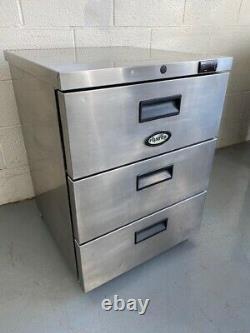 Foster HR 150 3x drawer under counter fridge